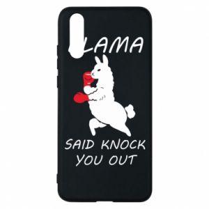 Etui na Huawei P20 Llama knockout