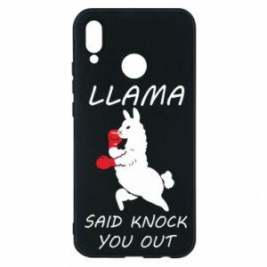 Etui na Huawei P20 Lite Llama knockout