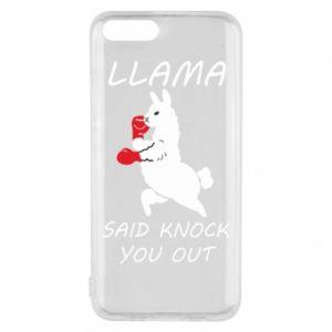Etui na Xiaomi Mi6 Llama knockout