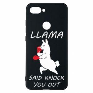 Etui na Xiaomi Mi8 Lite Llama knockout