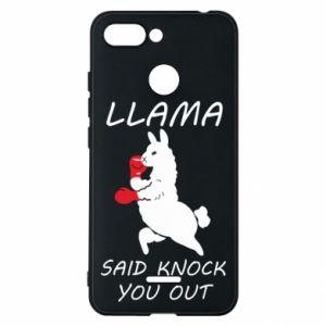 Etui na Xiaomi Redmi 6 Llama knockout