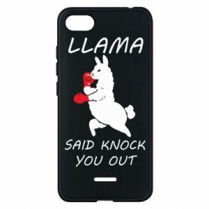 Etui na Xiaomi Redmi 6A Llama knockout