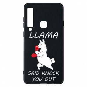 Etui na Samsung A9 2018 Llama knockout