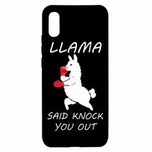 Xiaomi Redmi 9a Case Llama knockout