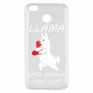 Xiaomi Redmi 4X Case Llama knockout