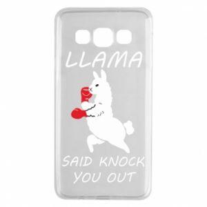 Samsung A3 2015 Case Llama knockout