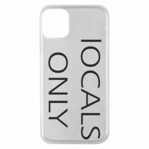 Etui na iPhone 11 Pro Locals only