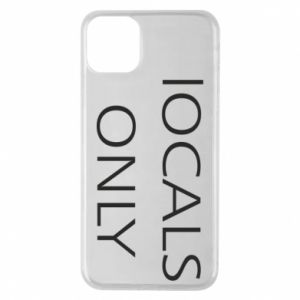 Etui na iPhone 11 Pro Max Locals only