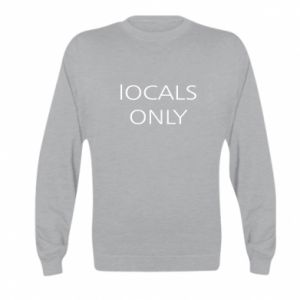 Bluza dziecięca Locals only