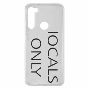 Etui na Xiaomi Redmi Note 8 Locals only