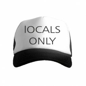 Czapka trucker dziecięca Locals only