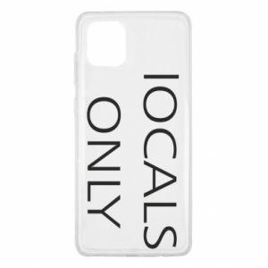 Etui na Samsung Note 10 Lite Locals only
