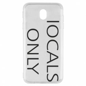Etui na Samsung J7 2017 Locals only