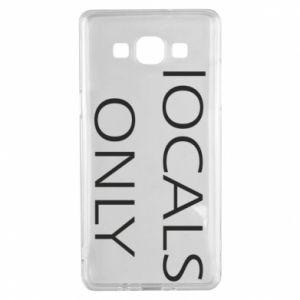 Etui na Samsung A5 2015 Locals only