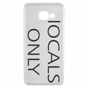Etui na Samsung A3 2016 Locals only
