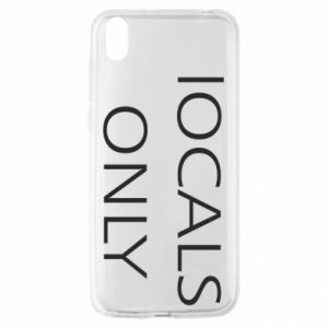Etui na Huawei Y5 2019 Locals only