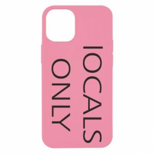 Etui na iPhone 12 Mini Locals only