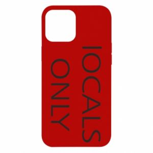 Etui na iPhone 12 Pro Max Locals only