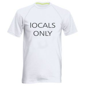 Koszulka sportowa męska Locals only