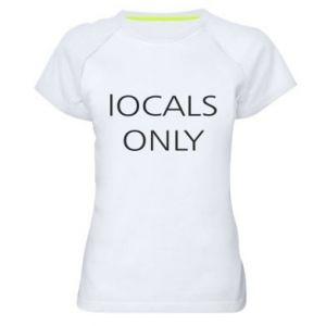Koszulka sportowa damska Locals only