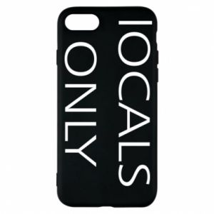 Etui na iPhone 7 Locals only
