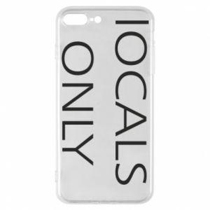 Etui do iPhone 7 Plus Locals only
