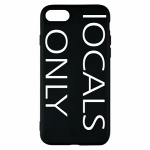 Etui na iPhone 8 Locals only