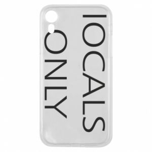 Etui na iPhone XR Locals only
