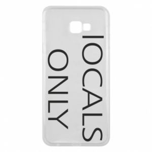 Etui na Samsung J4 Plus 2018 Locals only