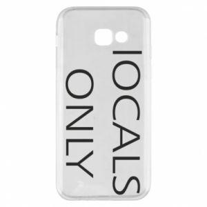 Etui na Samsung A5 2017 Locals only