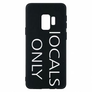 Etui na Samsung S9 Locals only