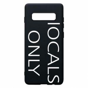 Etui na Samsung S10+ Locals only