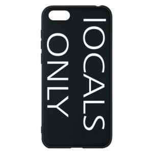 Etui na Huawei Y5 2018 Locals only