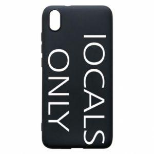 Etui na Xiaomi Redmi 7A Locals only