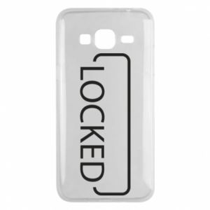 Etui na Samsung J3 2016 Locked
