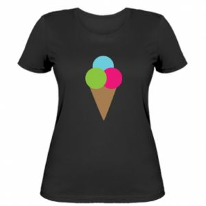 Women's t-shirt Ice cream cone