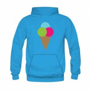 Kid's hoodie Ice cream cone