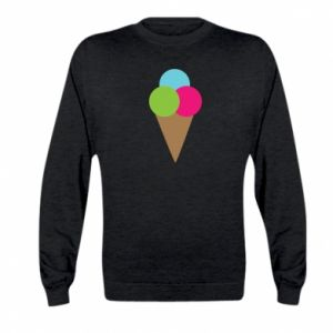 Kid's sweatshirt Ice cream cone