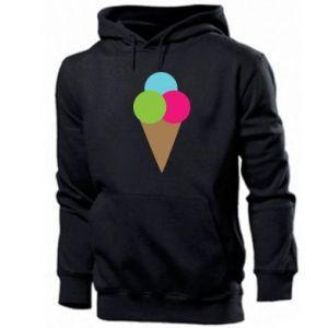 Men's hoodie Ice cream cone