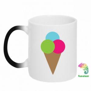 Chameleon mugs Ice cream cone