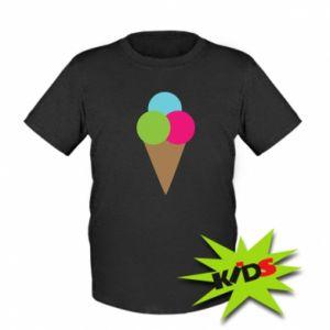 Dziecięcy T-shirt Lody