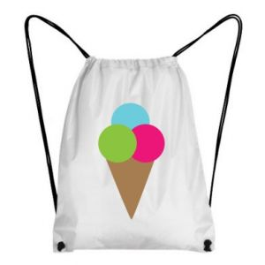 Backpack-bag Ice cream cone