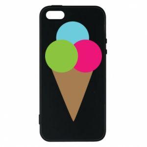 Etui na iPhone 5/5S/SE Lody - PrintSalon