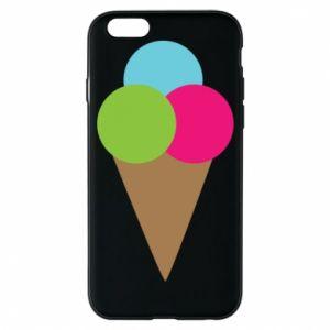 Etui na iPhone 6/6S Lody - PrintSalon