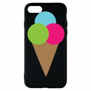 Etui na iPhone 8 Lody - PrintSalon