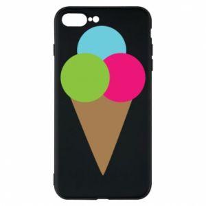 Etui na iPhone 8 Plus Lody - PrintSalon