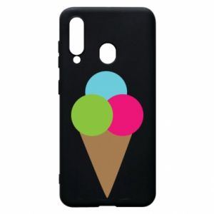 Phone case for Samsung A60 Ice cream cone