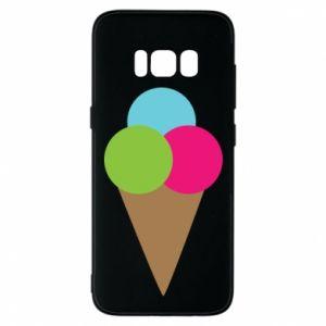 Etui na Samsung S8 Lody - PrintSalon