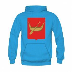 Kid's hoodie Lodz coat of arms