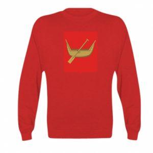 Kid's sweatshirt Lodz coat of arms
